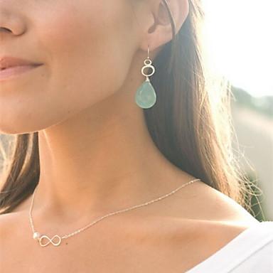Ожерелья с подвесками Жемчужные ожерелья бесконечность Жемчуг Сплав европейский Бижутерия Назначение Для вечеринок Повседневные