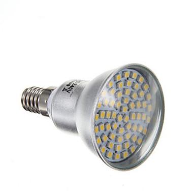 abordables Ampoules électriques-4 W Spot LED 2800 lm E14 PAR38 60 Perles LED SMD 3528 Blanc Chaud 220-240 V
