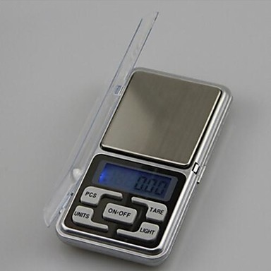 Мини портативный электронные весы, 500g / 0.1g, 12X6.2X2CM