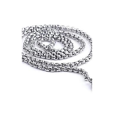 z&x® personalitate de moda pentru barbati oword coliere din oțel de titan cerc