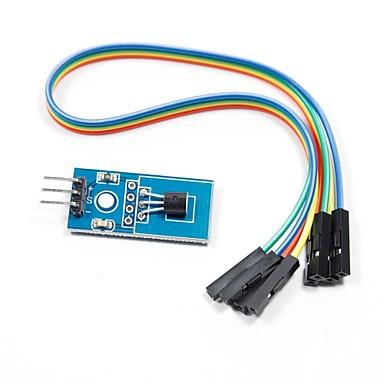 DS18B20 Temperatursensor-Modul für Arduino (funktioniert mit offiziellen Arduino-Boards)
