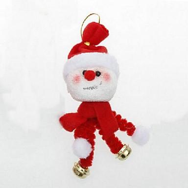 decoraciones de navidad que cuelgan adornos de campana