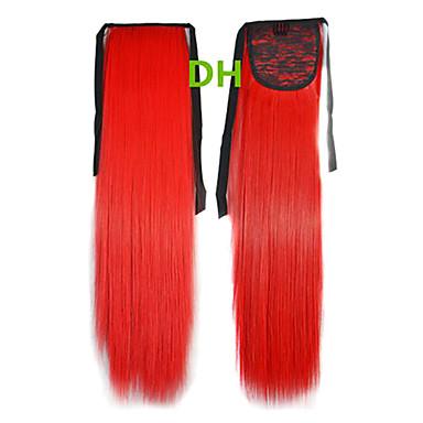 Hot prodej Peny Tail sponky do vlasů Barva Barevné Red Bar velkoobchod Hair Extension příčesky