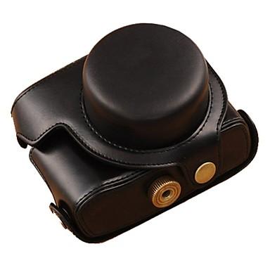 pajiatu® PU aparat de fotografiat ulei de piele din piele caz de protecție retro pentru canon marca powershot G1X ii G1X m2