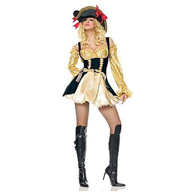 Pirat Costume Cosplay Costume petrecere Feminin Festival/Sărbătoare Costume de Halloween Halloween Carnaval An Nou Peteci