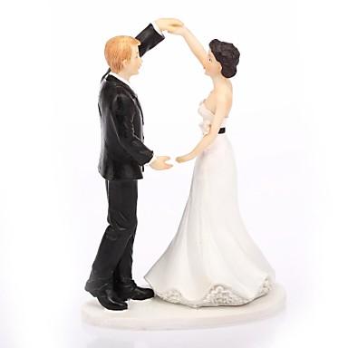 Tortenfiguren & Dekoration Klassisch Klassisches Paar Harz Hochzeit Mit Geschenkbox