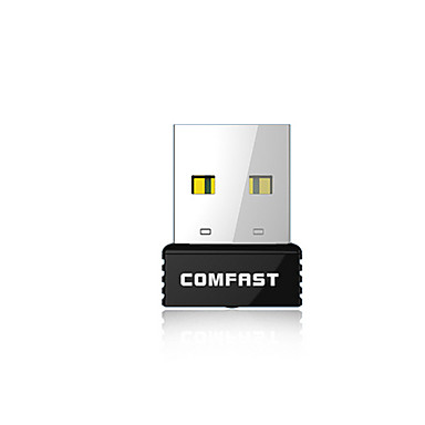 COMFAST® CF-WU712P 150Mbps Super Mini USB Wireless Network Card with WPS Button