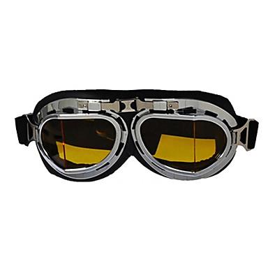 27bcfe15fec6 mærke fold goggle hjelm motorcykel scooter motorcykel briller sikkerhed  goggle gule glas