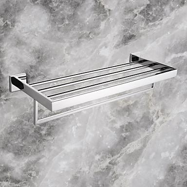 Handtuchhalter Gute Qualität Moderne Edelstahl 1 Stück - Hotelbad Doppelbett (200 x 200)