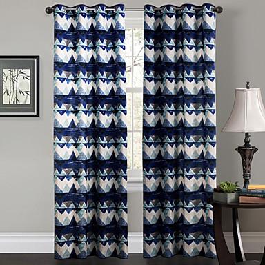 Eén paneel Window Behandeling Designer , Welving Woonkamer Polyester Materiaal Curtains Drapes Huisdecoratie For Venster