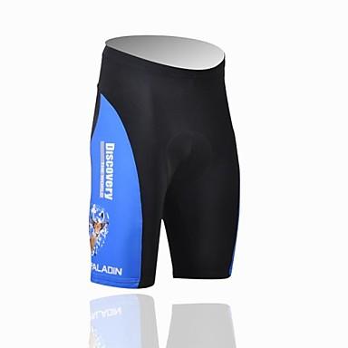 ILPALADINO Herrn Gepolsterte Fahrradshorts Fahhrad Shorts / Laufshorts / Gepolsterte Shorts / Unten UV-resistant, Atmungsaktiv Patchwork