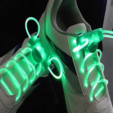 долго яркая вспышка медленная вспышка водонепроницаемым водить шнурков зеленый (1 пара)