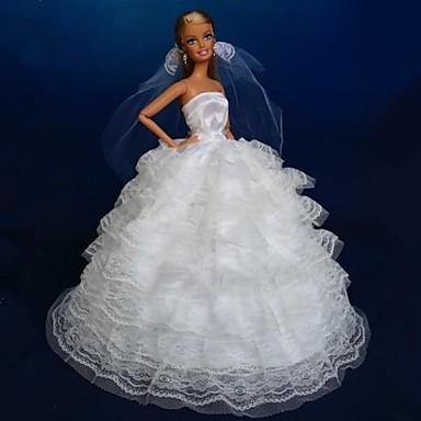 Petrecere/Seară Rochii Pentru Barbie Doll Dantelă organza Rochie Pentru Fata lui păpușă de jucărie