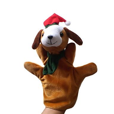 voordelige Marionetten-Honden / Eagle Vingerpoppetjes / Poppen / Handpop Schattig / Noviteit Cartoon tekstiili / Pluche Jongens / Meisjes Geschenk