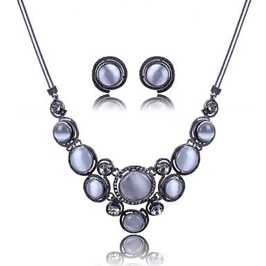 femei europe toate set meci Opalul rotunde bijuterii (inclusiv coliere cercei)
