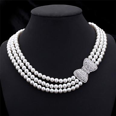 Damen Anderen  -  Regulär Weiß Modische Halsketten Für Hochzeit Party Besondere Anlässe