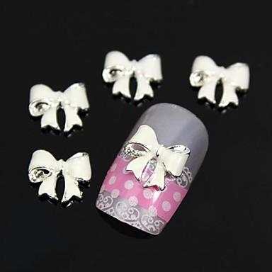 10pcs ori bowknot alb Nail DIY decorare de arta