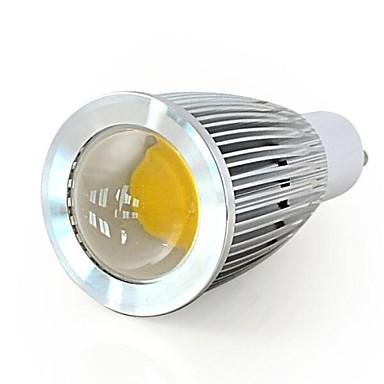GU10 LED-kohdevalaisimet A60(A19) COB 600LM lm Lämmin valkoinen / Kylmä valkoinen Himmennettävä / Koristeltu AC 220-240 / AC 110-130 V