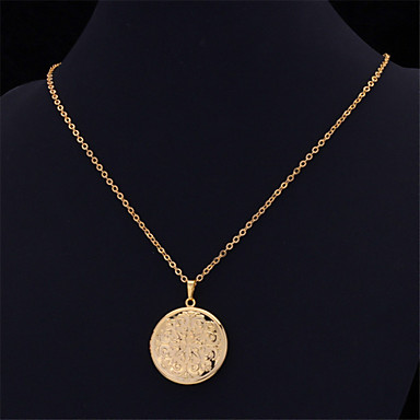 Damen Blume Y-Ketten  -  Kreisförmig Gold Silber Modische Halsketten Für Hochzeit Party Besondere Anlässe