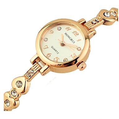 Ximi uitgesneden diamanten armband horloge