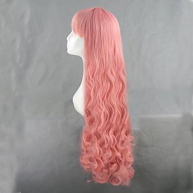 Косплэй парики Косплей Косплей Аниме Косплэй парики 110 См Термостойкое волокно Жен.
