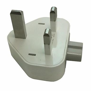 Зарядное устройство для дома Портативное зарядное устройство Для iPad Для мобильного телефона Стандарт Великобритании Белый