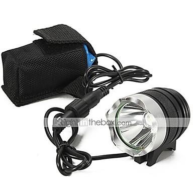 Lanterne LED LED 1000 lm 3 Mod LED cu Încărcător Reîncărcabil Rezistent la apă Camping/Cățărare/Speologie Utilizare Zilnică Ciclism