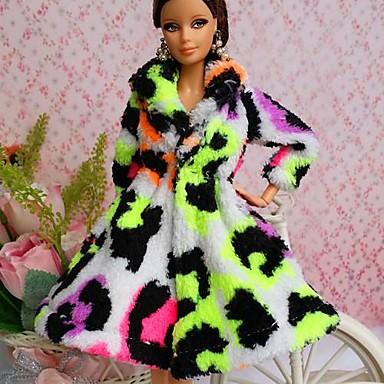 Petrecere/Seară Rochii Pentru Barbie Doll Dantelă organza Vârf Pentru Fata lui păpușă de jucărie