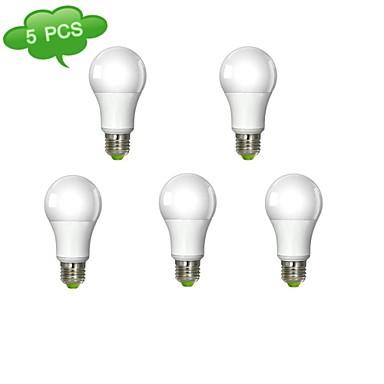 980 lm E26/E27 LED-glødepærer A60(A19) 1 leds COB Varm hvit AC 100-240V