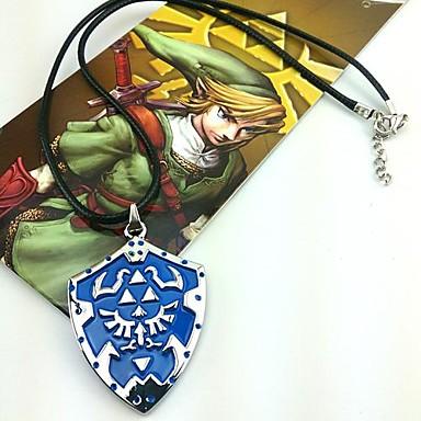 Bijuterii Inspirat de The Legend of Zelda Cosplay Anime / Jocuri Video Accesorii Cosplay Coliere Aliaj Bărbați