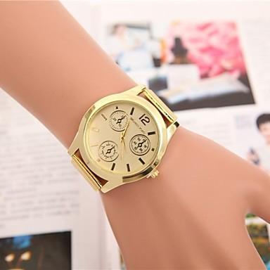 Жен. Кварцевый Наручные часы Китайский Cool / Повседневные часы сплав Группа Эйфелева башня / Мода Золотистый