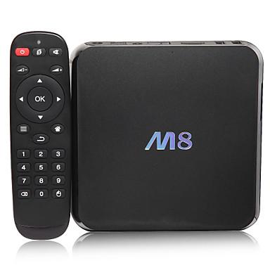 M8 Amlogic S802 Android TV Box,RAM 2GB ROM 8GB Quad Core WiFi 802.11n Bluetooth 4.0