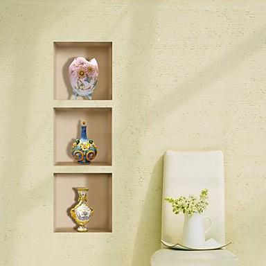 Dekorative Wand Sticker - 3D Wand Sticker 3D Wohnzimmer / Schlafzimmer / Esszimmer