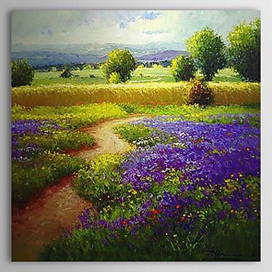 Pintados a mano paisaje pintura al aceite de 24 x 24 - Pintura al aceite ...