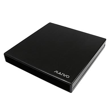 externe boîtier de lecteur optique slim portable usb 2.0 dvd