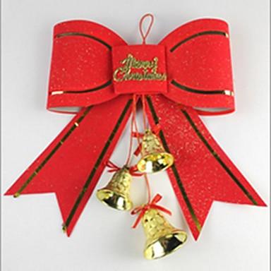 pomul de Crăciun decorare consumabile roșu fluture nod 10cm stil proaspăt