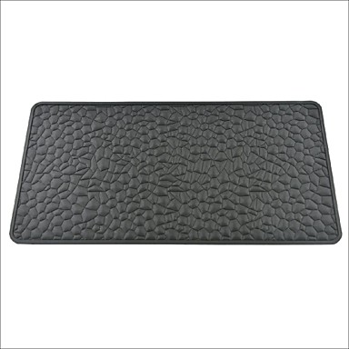 Auto Car Dashboard Silicone Gel Anti-slip Pad Mat Black