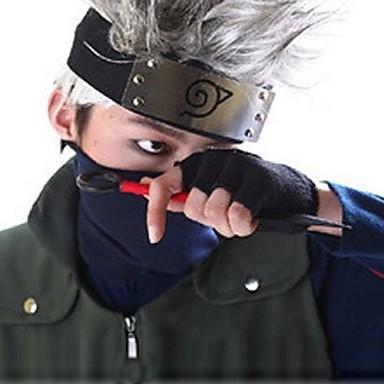 Inspired by Naruto Hatake Kakashi Anime Cosplay Costumes Mask Patchwork Mask For Unisex
