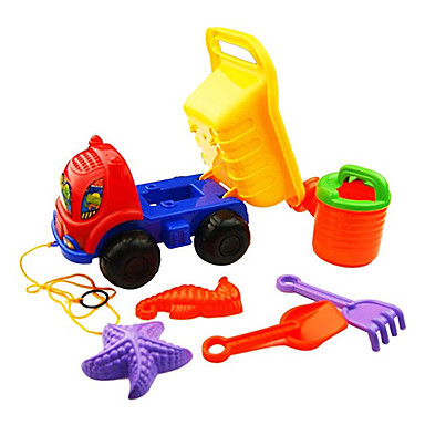 voordelige water Speeltjes-Zwembaden & Waterpret Strand Speelgoed Draagbaar Duurzaam Muovi 6 pcs Stuks Kinderen Volwassenen Unisex Jongens Meisjes Speeltjes Geschenk