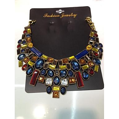 Wie im Bild dargestellt Halskette / Y Halskette - Harz Blume Gold Modische Halsketten Schmuck Für Hochzeit, Party, Besondere Anlässe / Damen