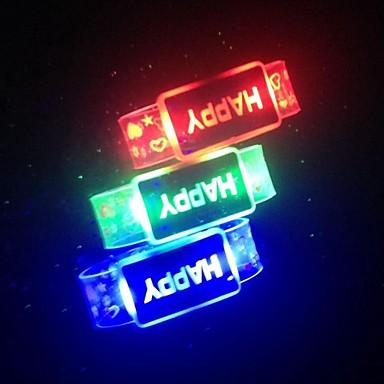 украшение светлый свет водить батарея ожерелья водоустойчивый случайный цвет