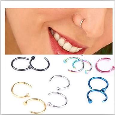 Inelul nasului / nasul Stud / Piercing nas Teak Design Unic, Modă Pentru femei Roz / Auriu / Albastru Deschis Bijuterii de corp Pentru Cadouri de Crăciun / Zilnic / Casual