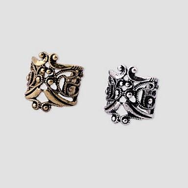 Hohl Ohr-Stulpen - vergoldet Silber / Bronze Für Hochzeit / Party / Alltag