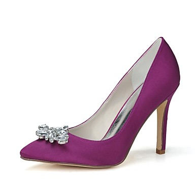 Γάμος Παπούτσια - Γυναικεία - Μυτερό - Γόβες - Γάμος / Πάρτι & Βραδινή Έξοδος -Μαύρο / Μπλε / Ροζ / Μωβ / Κόκκινο / Ιβουάρ / Ασημί /