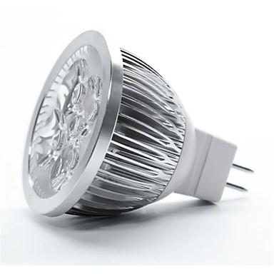 4W GU5.3(MR16) LED Spotlight MR16 5 leds High Power LED Warm White 350-450lm 3000-3500K DC 12V