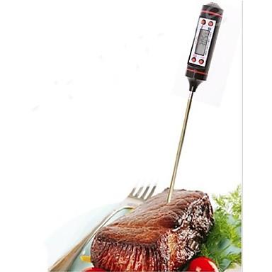 1 stuk meetinstrument roestvrijstalen elektronische thermometer voor voedselsoep