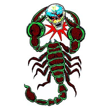 DIY sorozat gonosz skorpió csatát koponya mintázat pvc dekoráció matrica autó és mások