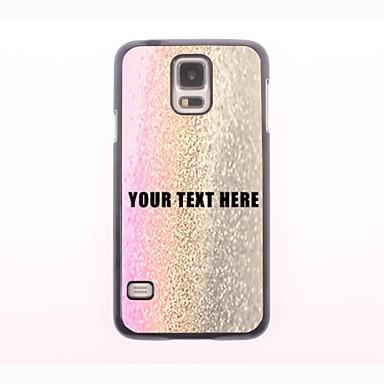 személyre szabott telefon esetében - három színű csepp víz kialakítás fém tok Samsung Galaxy S5