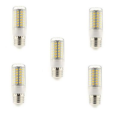5W E14 G9 E26/E27 LED Mısır Işıklar T 69 led SMD 5730 Sıcak Beyaz Serin Beyaz 450lm 3000-3500K AC 220-240V