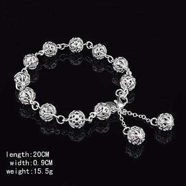 Kadın's Mücevher Kol Düğmesi Gümüş Mücevher Doğumgünü Nişan
